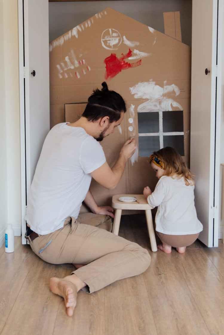 Gleichberechtigte Elternschaft - von Anfang an.